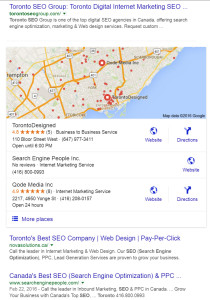Search results for Toronto SEO Company